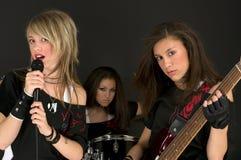 Mädchen-Band Lizenzfreies Stockbild