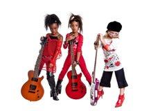 Mädchen-Band Stockbilder