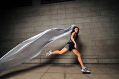 Mädchen in Bewegung 17 Stockbilder