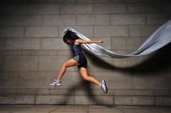 Mädchen in Bewegung 20 Lizenzfreie Stockfotos