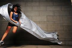 Mädchen in Bewegung 29 Lizenzfreie Stockfotografie