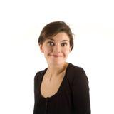 Mädchen, das Gesichter bildet Lizenzfreie Stockfotografie