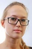 Mädchen in den Brillen. Lizenzfreie Stockfotografie