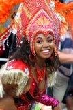 Mädchen in der Straßenparade Lizenzfreies Stockbild