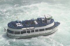 Mädchen des Nebels, Niagara Falls Lizenzfreies Stockbild