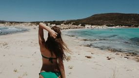 Mädchen des Sommers Lizenzfreie Stockbilder