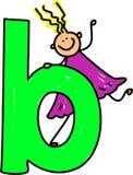 Mädchen des Zeichens B Lizenzfreies Stockbild