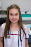 Mädchen - Doktor Lizenzfreies Stockbild