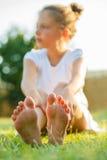 Mädchen-Füße Lizenzfreie Stockfotografie