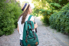 Mädchen haben Reise Stockbilder