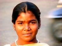 Mädchen-Haltung lizenzfreies stockbild