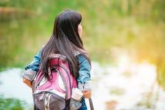 Mädchen im Abenteuer Lizenzfreie Stockfotos