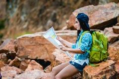 Mädchen im Abenteuer Lizenzfreie Stockfotografie