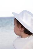 Mädchen im Hut lizenzfreies stockbild