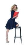 Mädchen im Kleid Lizenzfreie Stockfotografie