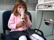 Mädchen im Krankenhaus Lizenzfreie Stockfotos