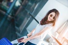 Mädchen im Reisemoment Lizenzfreie Stockbilder