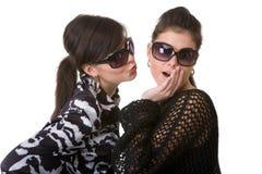Mädchen im Studio Stockfoto