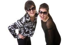 Mädchen im Studio Stockbilder