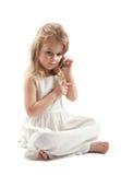 Mädchen im Weiß Lizenzfreie Stockfotos