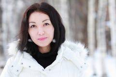 Mädchen im Winter Lizenzfreies Stockfoto
