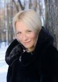 Mädchen im Winter Lizenzfreie Stockfotografie