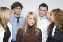 Mädchen/Jungen/Team Stockfoto