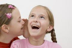 Mädchen/Klatsch Stockfotografie