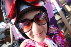 Mädchen-Libelle lizenzfreies stockbild