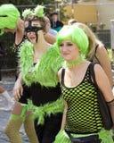 Mädchen an Love Parade 2010 Stockbild