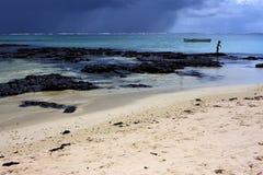 Mädchen in Mauritius Stockfotos
