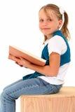 Mädchen-Messwert Stockfoto