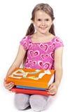 Mädchen-Messwert Stockbilder