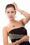 Mädchen mit Diamanten Lizenzfreie Stockfotos