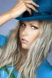 Mädchen mit einem Hut Lizenzfreies Stockfoto