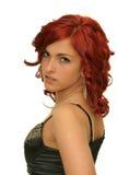Mädchen mit einem roten Haar Lizenzfreie Stockfotos