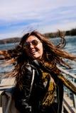 Mädchen mit Gläsern Nr 3 Lizenzfreies Stockfoto