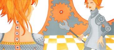Mädchen mit Problem joints-5 Lizenzfreie Stockbilder