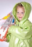Mädchen mit Regenschirm Lizenzfreie Stockfotos