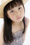 Mädchen mit traurigem Gesicht Lizenzfreie Stockfotos