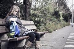 Mädchen ohne Freunde Lizenzfreie Stockbilder