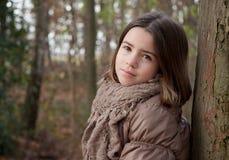Mädchen-Porträt Stockfoto