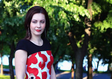 Mädchen-Portrait Stockbilder