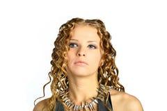 Mädchen-Portrait Stockfotos