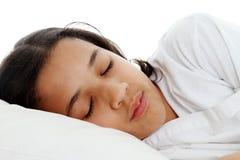 Mädchen-Schlafen Lizenzfreies Stockbild