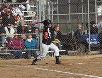 Mädchen-Softball Stockfotografie