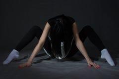 Mädchen-Spinne Lizenzfreie Stockfotos