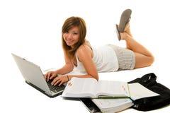Mädchen-Studieren Lizenzfreie Stockbilder