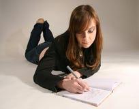 Mädchen-Studieren Lizenzfreie Stockfotos