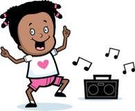 Mädchen-Tanzen Lizenzfreies Stockfoto